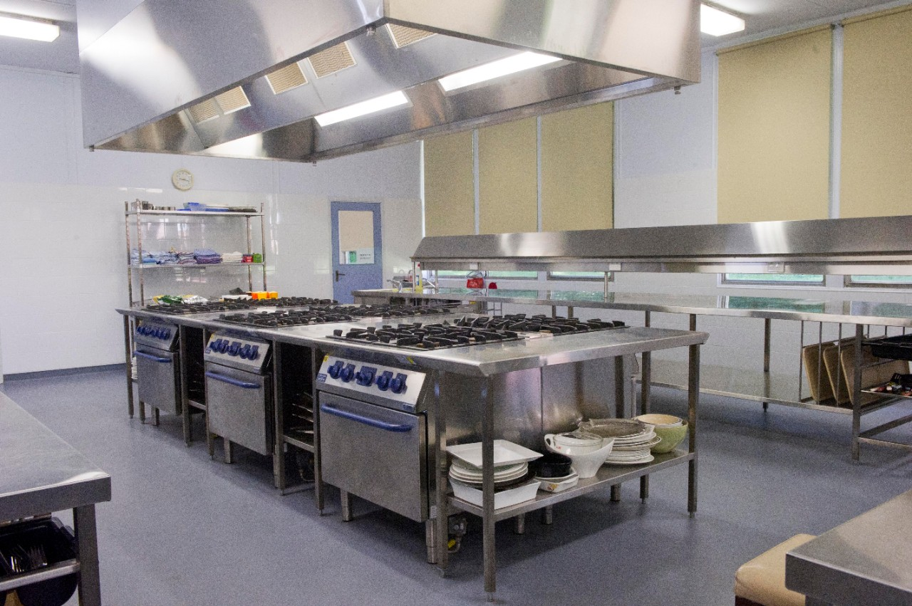 Commercial kitchen - Hunters Hill High School