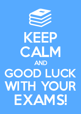 Good Luck Year 12!